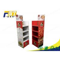Best Snack Corrugated Cardboard Displays Racks , Cardboard Pop Up Display For Chocolates wholesale