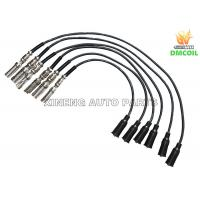Best Custom Plug Wires / Auto Spark Plug Wires Anti Interference For Volkswage Skoda Audi wholesale