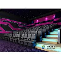 Buy cheap Exciting 4D Movie Theater With Circular Screen , 4D Theater System from wholesalers