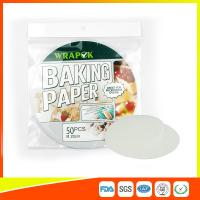 "Best Silicone 8 "" Kitchen Non Stick Baking Sheet / Parchment Paper For Cooking wholesale"