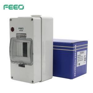Best Waterproof UV Stabilized 4P MCB Enclosure Box wholesale