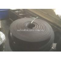 Best Black Rubber Sheet Non Asbestos skirtboard rubber Natural Sponge , 1mm-100mm Width wholesale