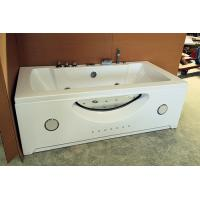 "Best Large 70"" Corner Whirlpool Bathtub 2 Person Jetted Tub Built - In Heater wholesale"