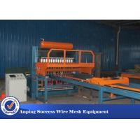 Cheap 60 Times / Min Three Wire Mesh Making Machine For Poultry Meshes Stable for sale