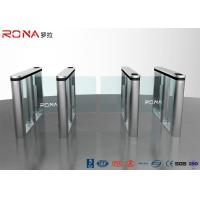 Best RFID Reader Speed Gate Turnstile Automatic Systems DC Servo Motor With LED wholesale