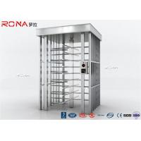 Best Auto Security Full Height Turnstile Pedestrian System 30 Persons / Minute Speed wholesale