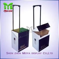 Cheap Exhibition Cardboard Trolley Box , Carton Trolley Paper Box For Fair Promotion for sale