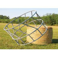 Best Cattle Hay Bale Feeder With Size  1X2meter Galvanized or PVC coated 8 Feed Place on it wholesale