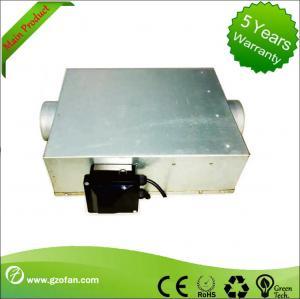 Best High Efficiency Centrifugal Inline Duct Booster Fan , Inline Bathroom Extractor Fan wholesale