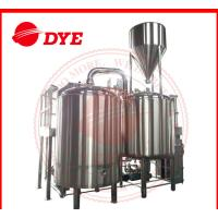 Best 500 Gal Steam All Grain Home Brewing Equipment With Whirlpool Tank wholesale
