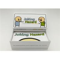 Best Eco Friendly Joking Hazard Expansion Pack , Custom Made Playing Cards 360pcs wholesale