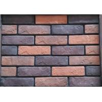 Details Of Colored Wall Decoration Faux Exterior Brick With Low Absorption 105857760