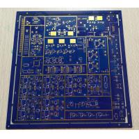 Best 1.6mm 1OZ Copper Thickness Multilayer PCB Board 8 Layers FR-4 Blue Soldmask wholesale