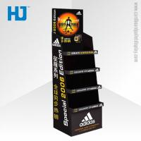 China Perfume 4 Shelf Custom Cardboard Display Stand Unit For Superstore on sale