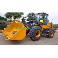 China Hydraulic pilot control Heavy Load XCMG ZL50GN 5 Ton wheel loader with 3m3 bucket with CAT Engine on sale