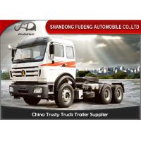 Best North Benz Beiben Tractor Head Trucks NG80B Cab 420 HP 6 X 4 Drive Type wholesale