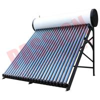 Best Roof Mounted Heat Pipe Solar Water Heater , 300 L Closed Loop Solar Hot Water System wholesale