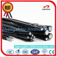 Best 2 AWG Wire Aerial Bundled Aluminum Overhead Power Cables ASTM B-231 Standard wholesale