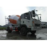 Best Mobile Concrete Mixer Truck 4x2 6 Wheels 6m3 Cement Mixer Drum For Sinotruk wholesale