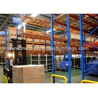 ASTM A36 A992 Public Industrial Storage Warehouse Precision Welded For Nigeria