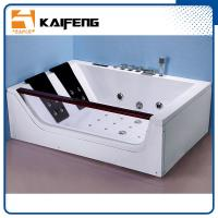Best Luxurious 2 Person Jacuzzi Bathtub , Jacuzzi Therapy Tubs With Safety Suction System wholesale