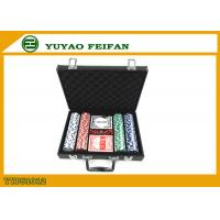 200 Pcs Personalised 11.5 Gram Poker Chip Sets With Leather PU Case