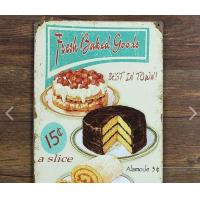 Best No Fading Vintage Coffee Signs Grocery Durable Vintage Tin Beer Signs wholesale