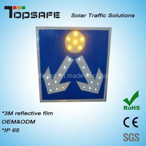 Best Aluminum Flashing Solar LED Road Sign Board wholesale