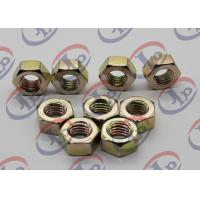 Best High Precision Machining Small Metal Parts , Hexagonal Zinc Plated Iron Nuts wholesale