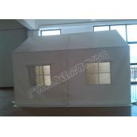 Cheap 3x6m White Pvc-Coated Temporary Tents With Strong Poles For Event / Parking / for sale