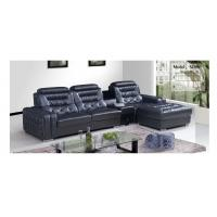 China 3196, High quality modern leather sofa with corner combination on sale