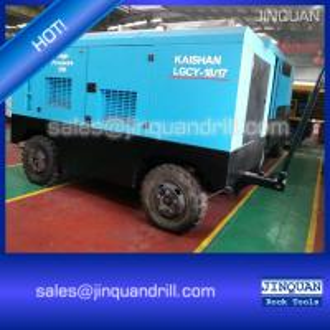 China LGCY-18/17 18m3/min 17 bar diesel portable screw rotary air compressor cummins engine on sale