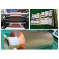 Best Soft Annealed Rolled Copper Foil For Conductive Tape Thickness 0.02mm wholesale