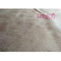 China Customized Warp Knitted Print Suede Sofa Fabric For Cushion Textile Wholesale on sale