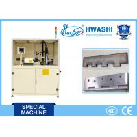 China PLC Control Automatic MIG Welding Machine For Steel Door Hinge , ISO Standard on sale