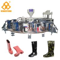 Best 12 Stations 1/2 color Boot Injection Molding Machine , Gumboots Making Machine  wholesale