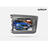 China Morrior Link Honda GPS Navigation 1.2G CPU Honda Civic 2012 Honda Sat Nav on sale