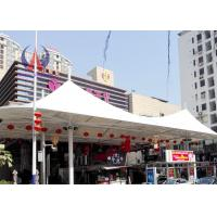 Quality Pre - Stress Cable Sail Shades Tensile Roof Structures‎ , Retractable Modular Tensile Structures wholesale