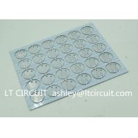 Best Round LED High Thermal Conductivity PCB Aluminum Based Single Layer wholesale