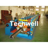 Best 2.0-3.0mm Heavy Duty Upright Racking / Shelf Roll Forming Machine With JH21-80 Ton Press Machine To Punch Holes wholesale