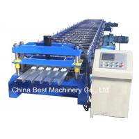 Best 688 Floor Deck Roll Forming Machine Floor Tile Material Making Machine wholesale