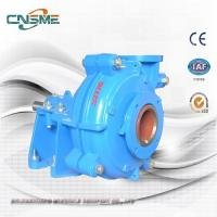 Buy cheap 4 Inch Weir Slurry Pump with Hard Metal Wet End Spare Parts in Blue Color from wholesalers