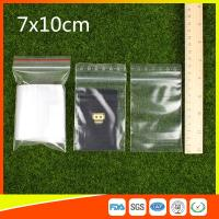 Best Small Resealable Plastic Bags / Small Zipper Pouch / Small Zipper Bags wholesale