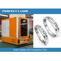 Quality Full Closed Cabinet Laser Marking Machine For Hardware Tools / Kitchen Knives / Bottles wholesale