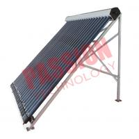 Best Heat Pipe Solar Power Collector , Solar Water Collector For Shower 24 Tubes wholesale