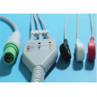 Best Siemens SC7000 / 8000 ECG Patient Cable 7 Pin Grabber / Snap 0.7lb Weight wholesale