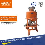 Best Dry Fine Powder High Efficient Magnetic Separation Equipment 860 * 860 * 1540mm  for feldspar wholesale