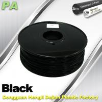 Cheap 3D Printer Filament 3mm 1.75mm Black Nylon Filament PA Filament for sale