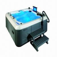 Buy cheap Good-quality New Design Bathtub with Computer and Remote Control, Hot Tub from wholesalers