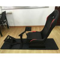 Best Adjustable Folding Racing Simulator Seat With Support of Steering Wheel+Pedal+Sh 1012B wholesale